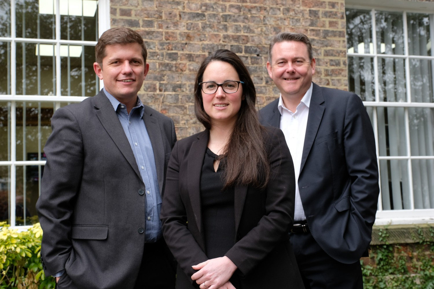Corporate Finance Team - David, Kat and Angus
