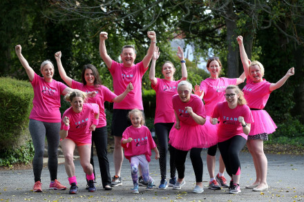 CLIVE OWEN TEAM SHARE PERSONAL STORIES AS THEY PREPARE TO TAKE ON RACE FOR LIFE