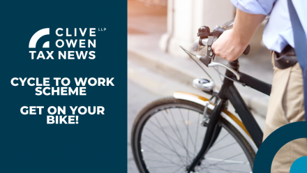 CYCLE TO WORK SCHEME, GET ON YOUR BIKE!