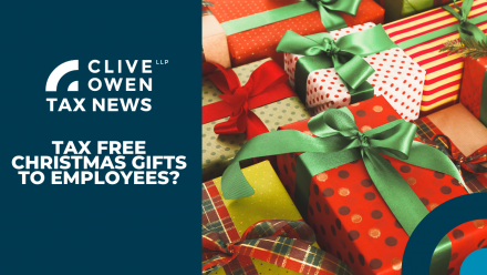 Tax Free Christmas Gifts to Employees?
