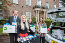Food For Thought Darlington bags support from Clive Owen LLP