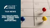 Tax Deadline – P11D Forms and Share Reporting