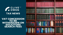 VAT concession to be withdrawn on solicitors search fees
