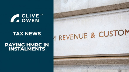 Paying HMRC in instalments