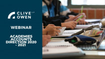 Academies Accounts Direction 2020 – 2021 Webinar