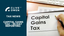Capital gains tax – 30 day reporting