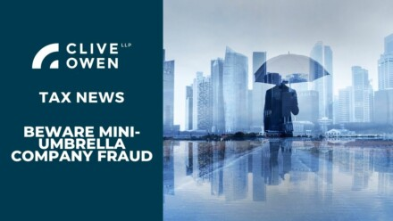 Beware mini-umbrella company fraud